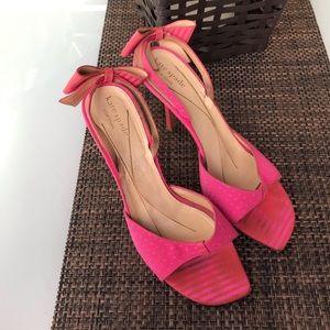 Kate Spade Bow Slingback Heels Size 8.5B